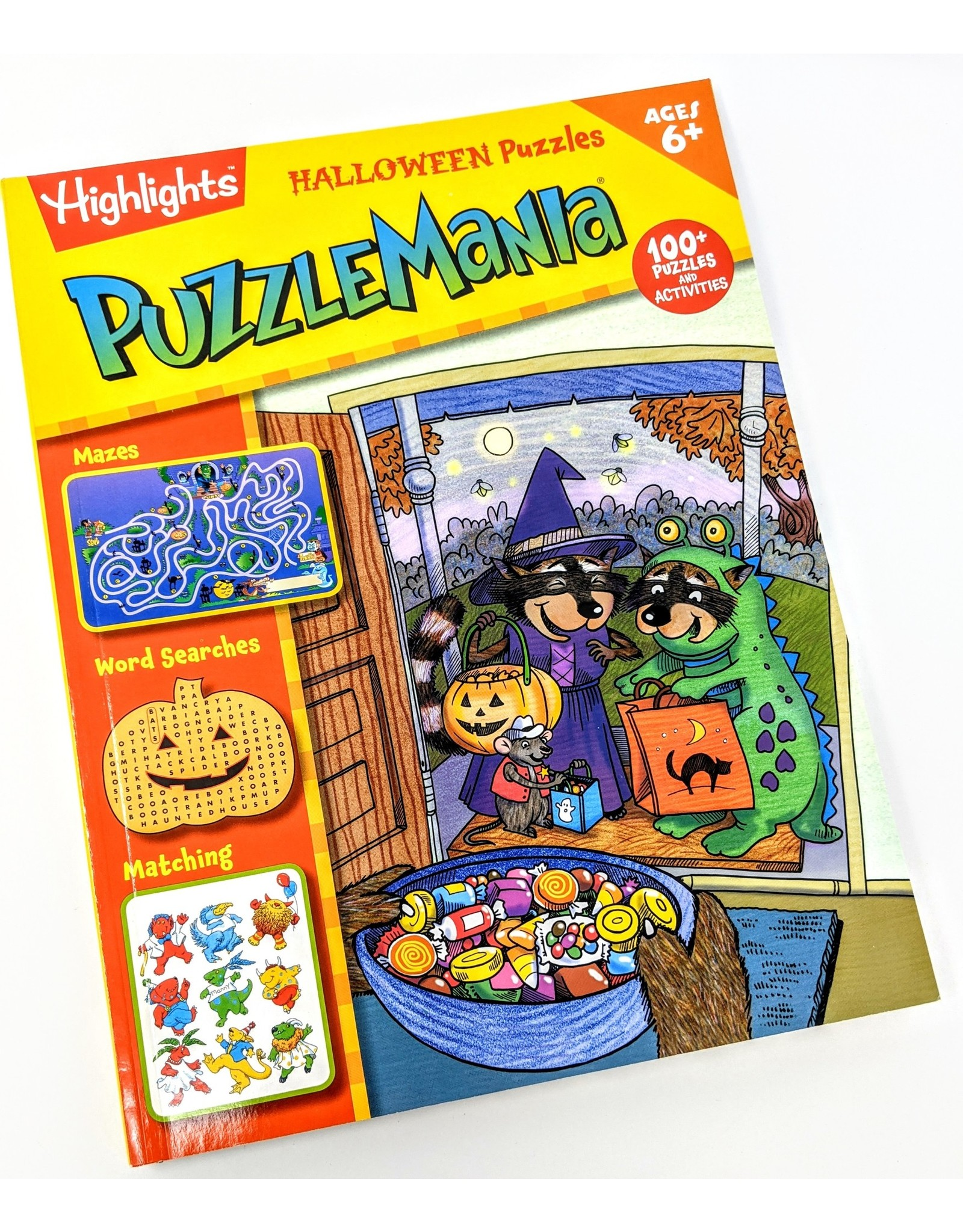 Highlights Halloween Puzzles