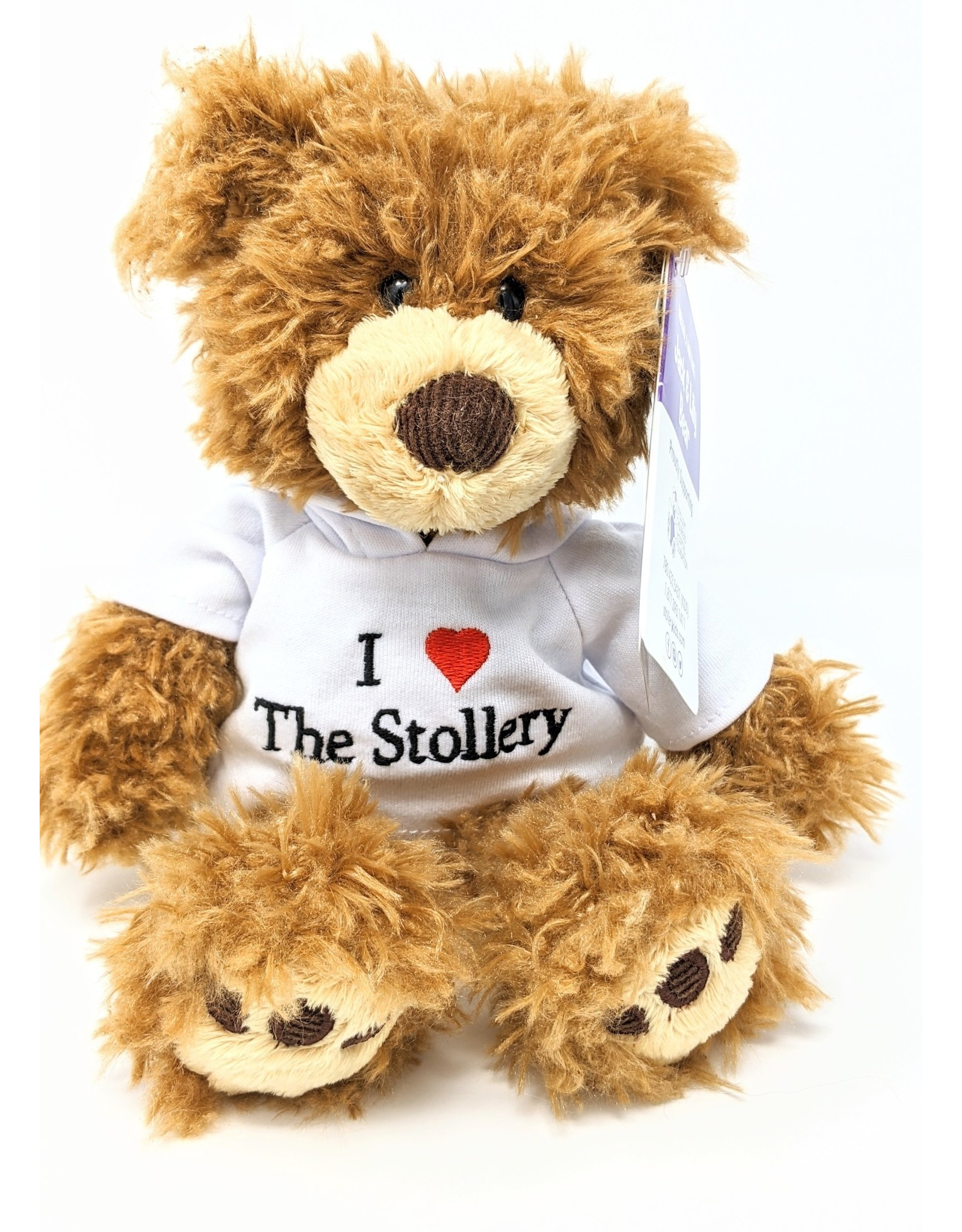 Jack & Lily I Heart Stollery - White