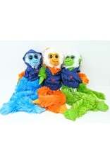 Aurora Monkey White Face  - blue Stollery hoodie