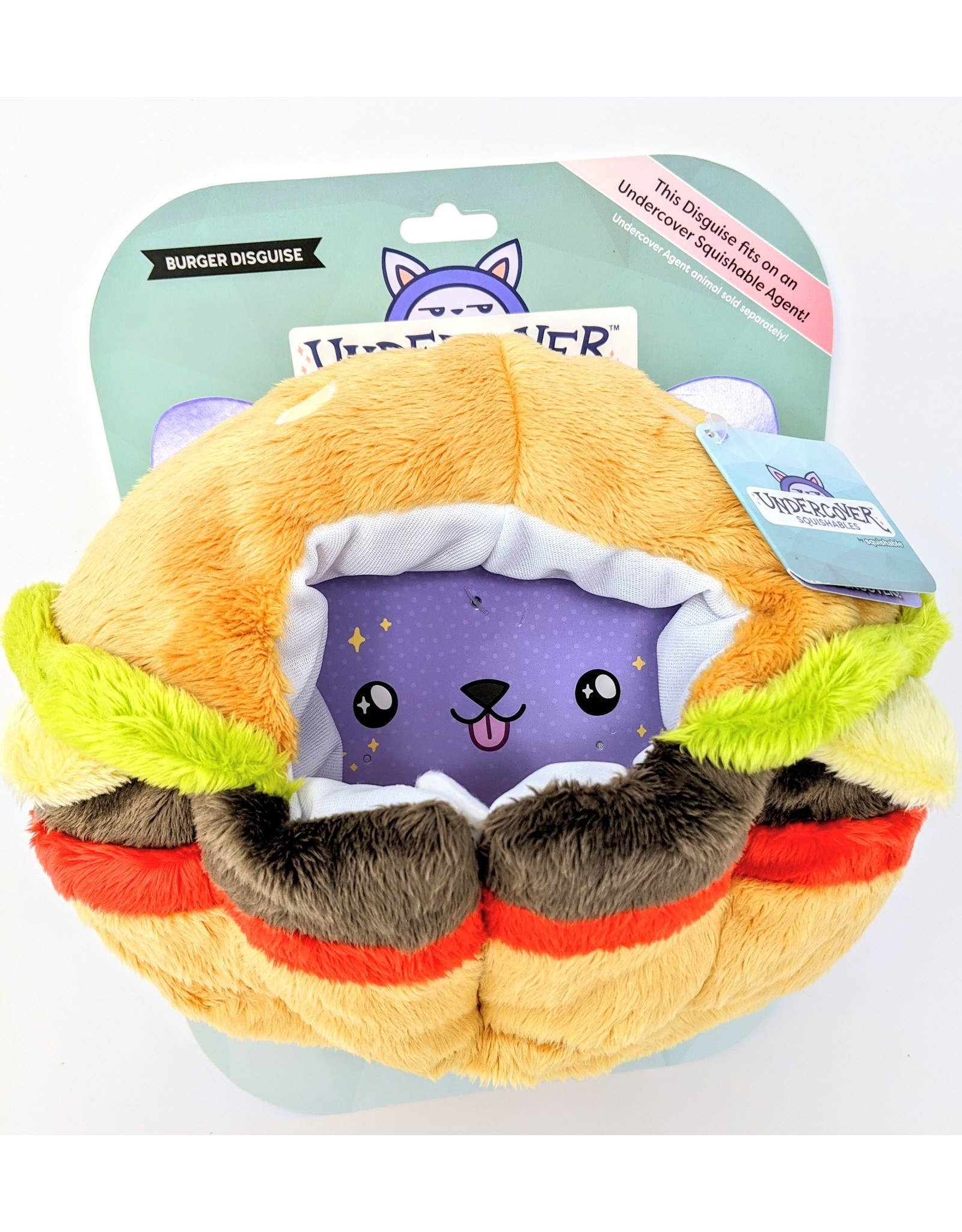Squishable Undercover Disguise - Cheeseburger