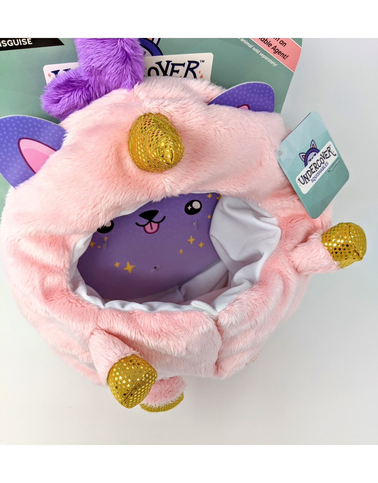 Squishable Undercover Disguise - Pink Unicorn