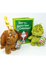 Dr. Seuss Dr. Seuss Gift Package - How The Grinch Stole Christmas with 2 Doods