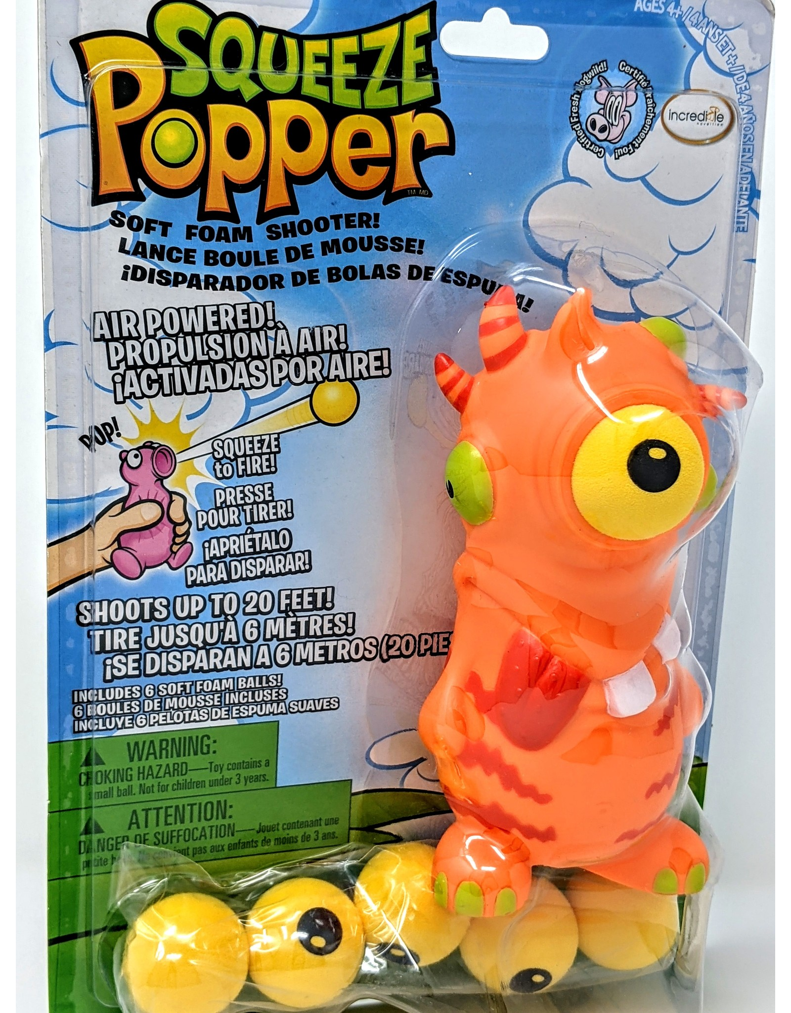 Squeeze Popper - Monster
