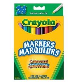 Crayola Fine Line Colossal 24 - reg