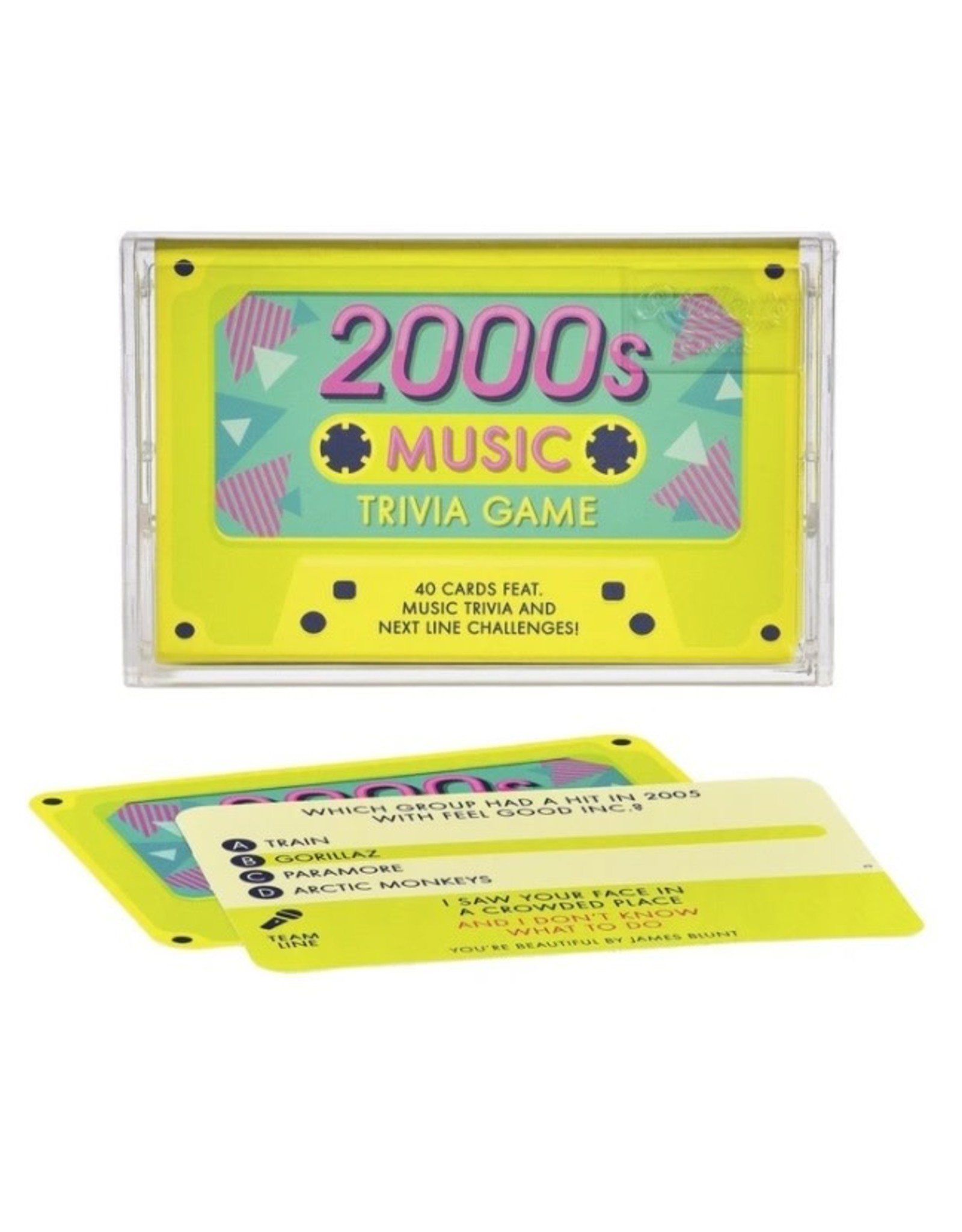 2000's Music Trivia Game