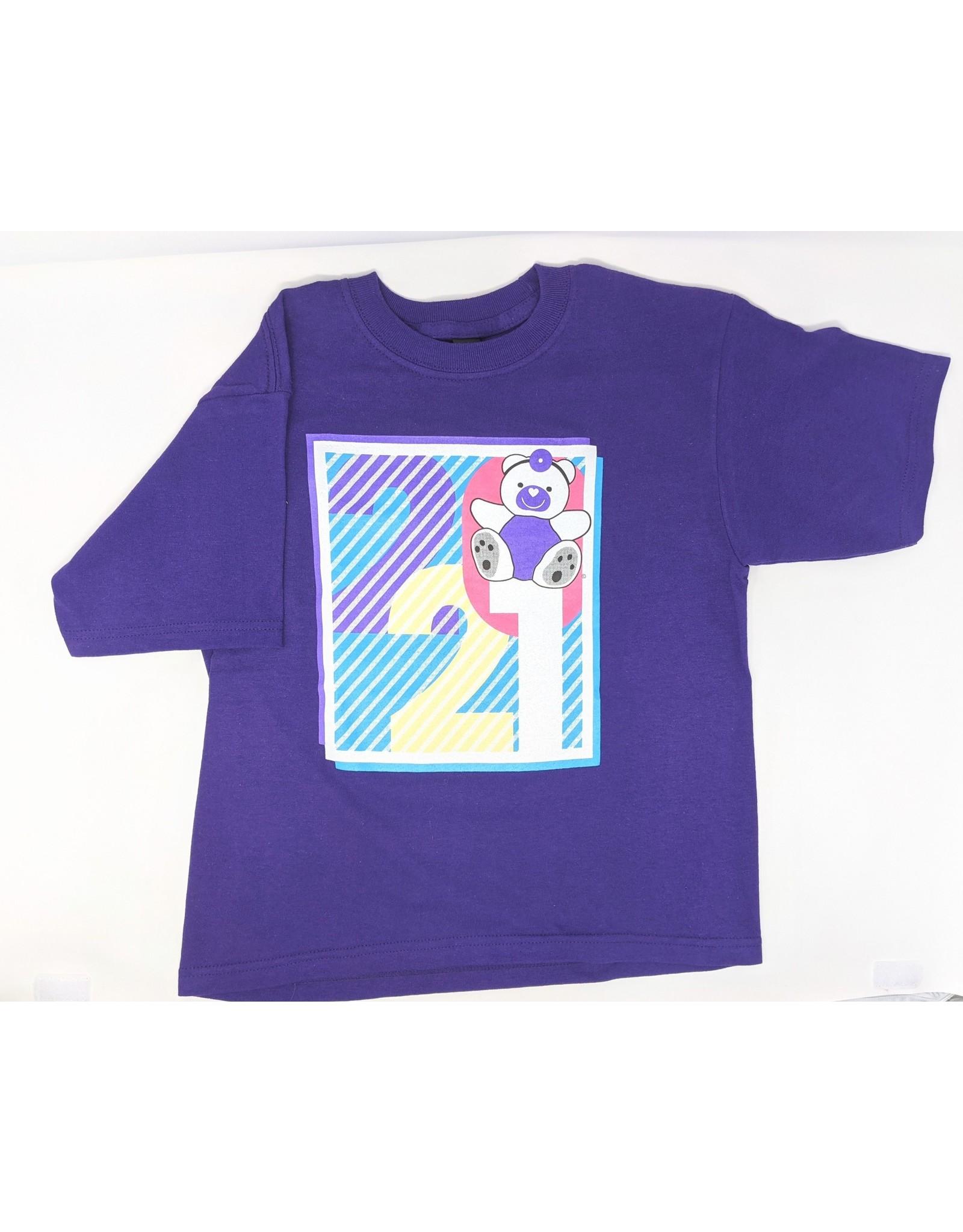 2021 Children's T-Shirt - purple