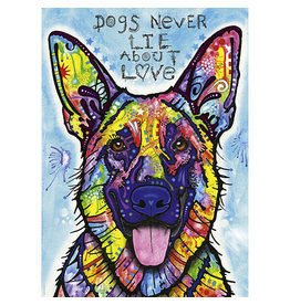 Heye Jolly Pets Puzzle (1000 piece) - dogs never lie