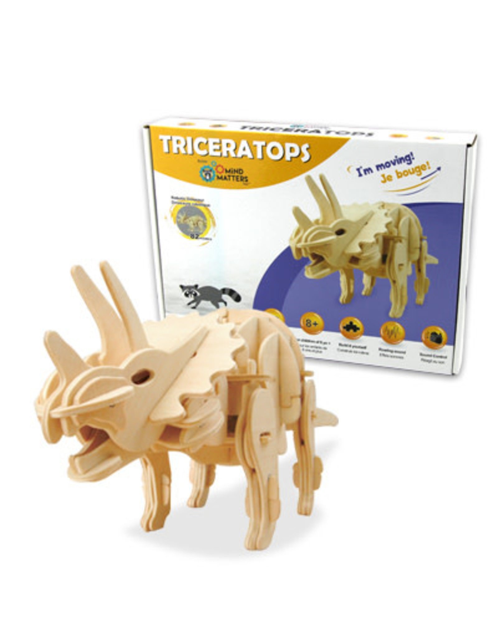 Sound Controlled Walking Triceratops