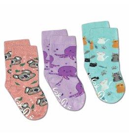 Good Luck Sock Cat/Koala/Octopus Socks, 0-12mo