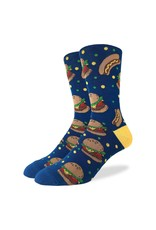 Good Luck Sock Burgers & Hotdogs Socks, 7-12