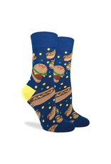 Good Luck Sock Burgers & Hotdogs Socks, 5-9