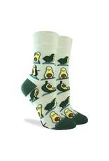 Good Luck Sock Avocado Yoga Socks, 5-9