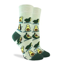 Good Luck Sock Avocado Yoga Socks, 5-9