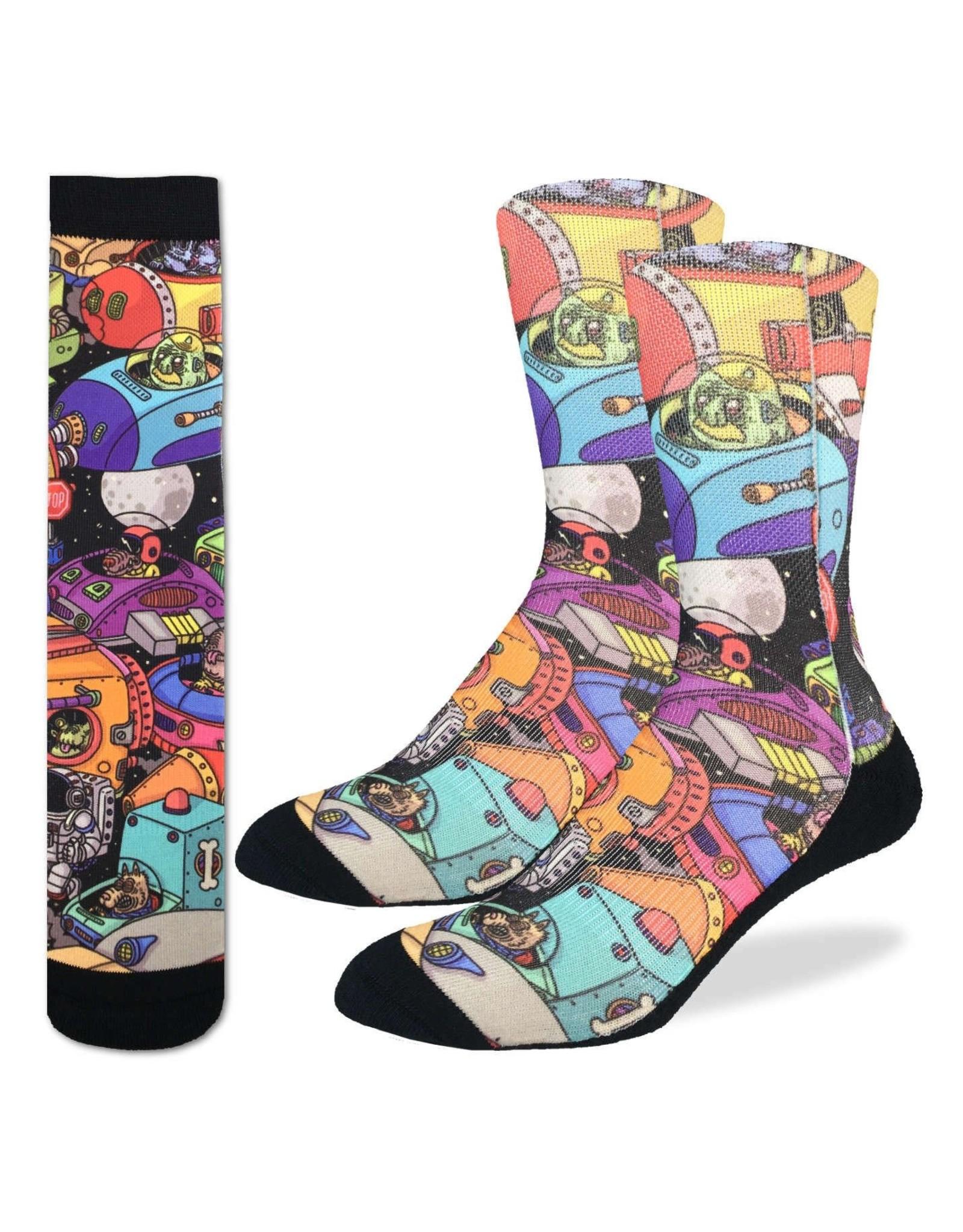 Good Luck Sock Space Jam Socks, 8-13
