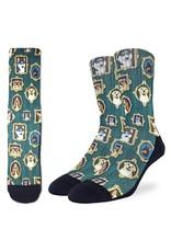 Good Luck Sock Prized Dogs Socks, 8-13