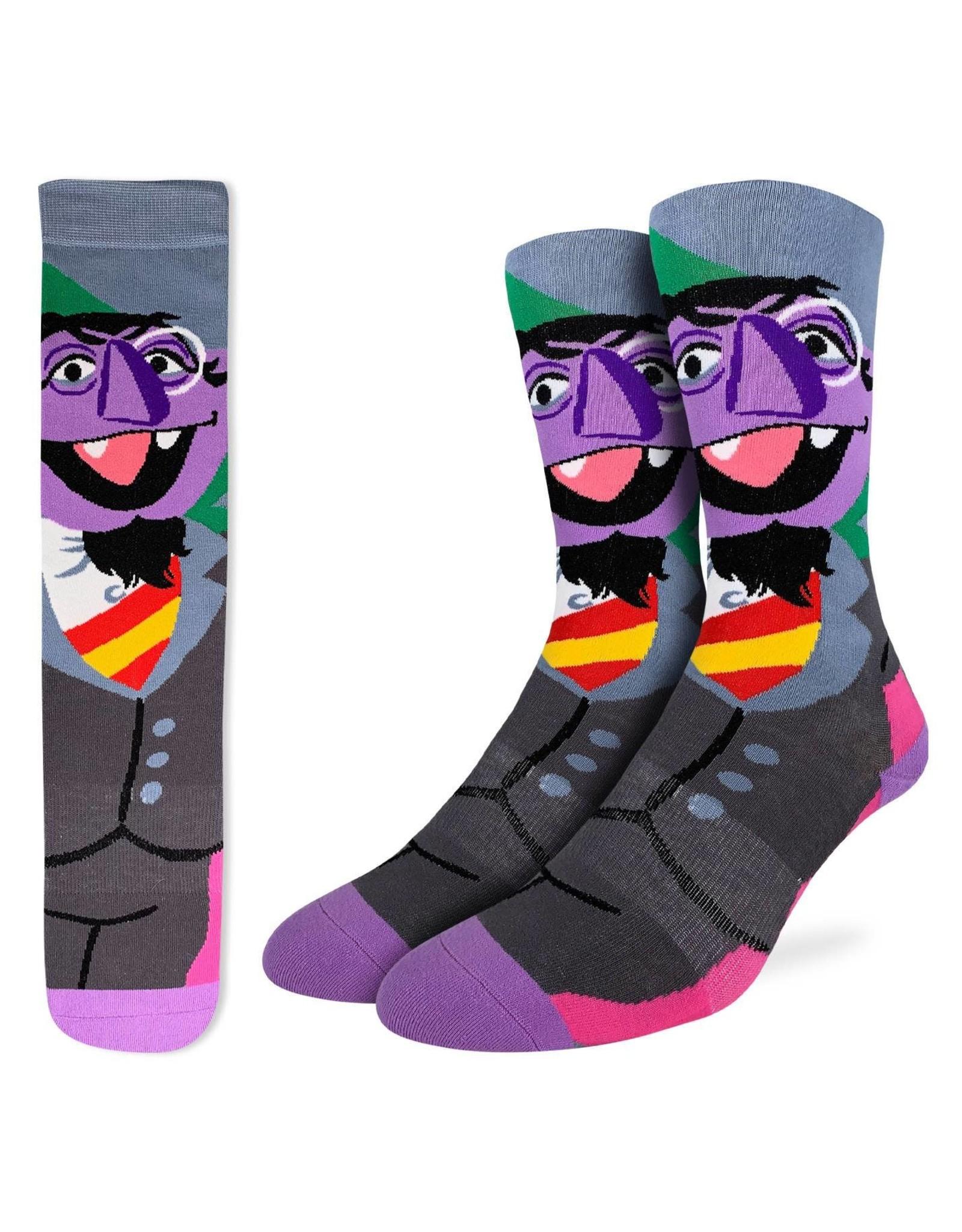 Good Luck Sock The Count Socks, 8-13