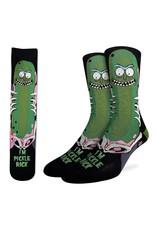 Good Luck Sock Rick/Morty Pickle Rick Socks, 8-13