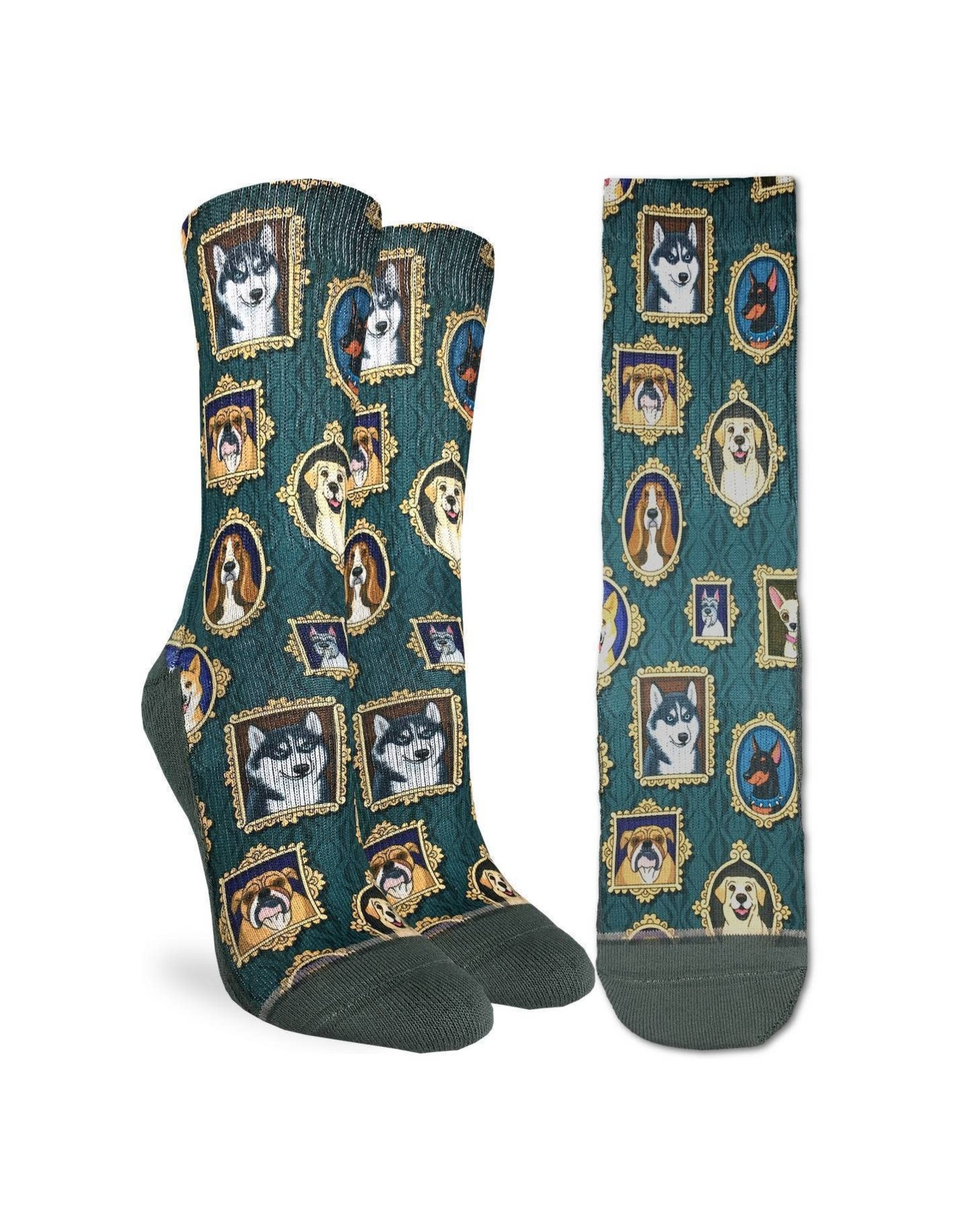 Good Luck Sock Prized Dogs Socks, 5-9