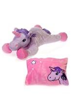 Peek-a-Boo Plush - unicorn pillow