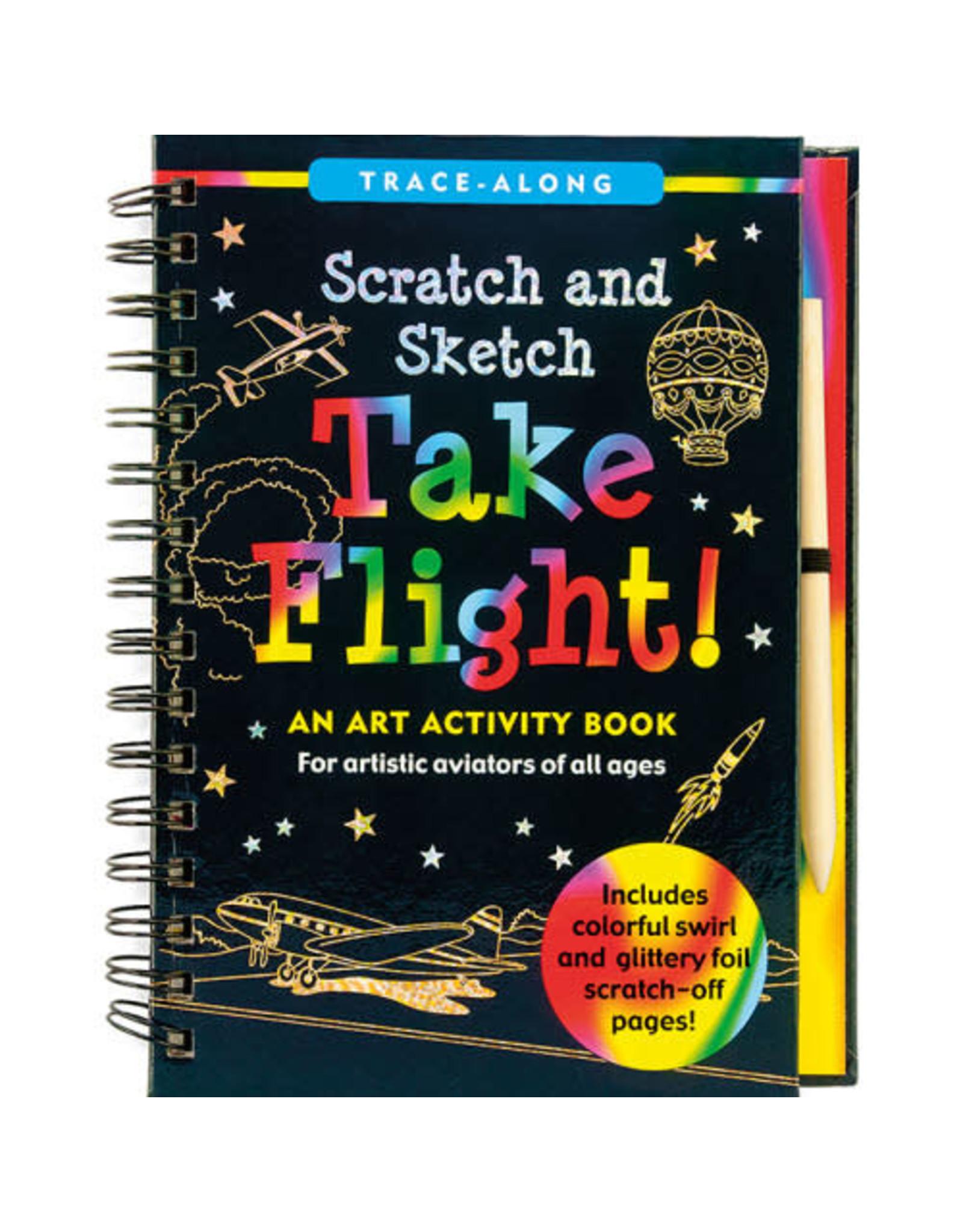 Scratch & Sketch Book - take flight