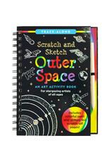 Scratch & Sketch Book -  outer space
