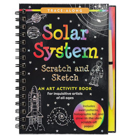 Scratch & Sketch Book -  solar system