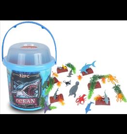 Wild Republic Ocean Playset - large bucket