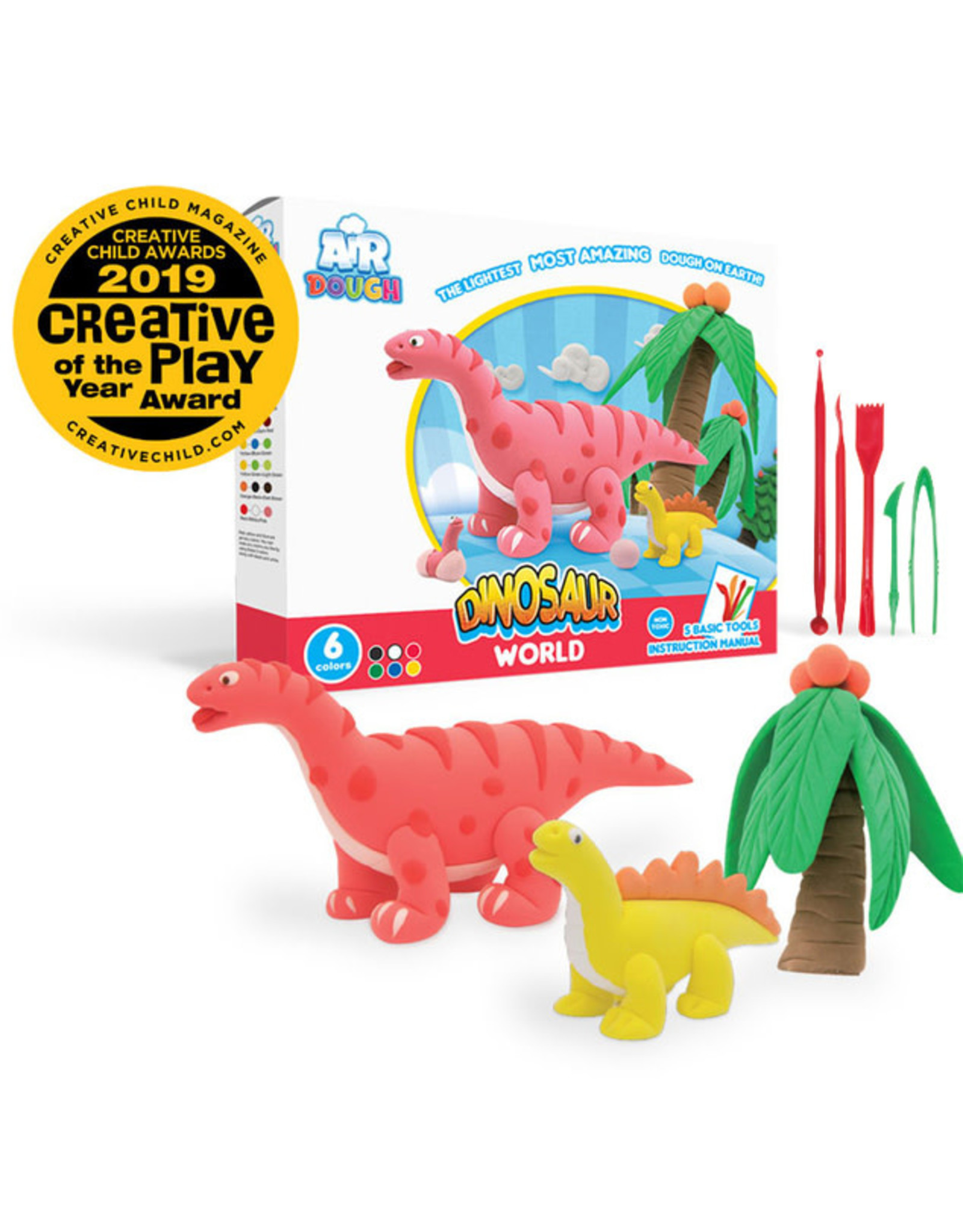 Air Dough - Dinosaur World