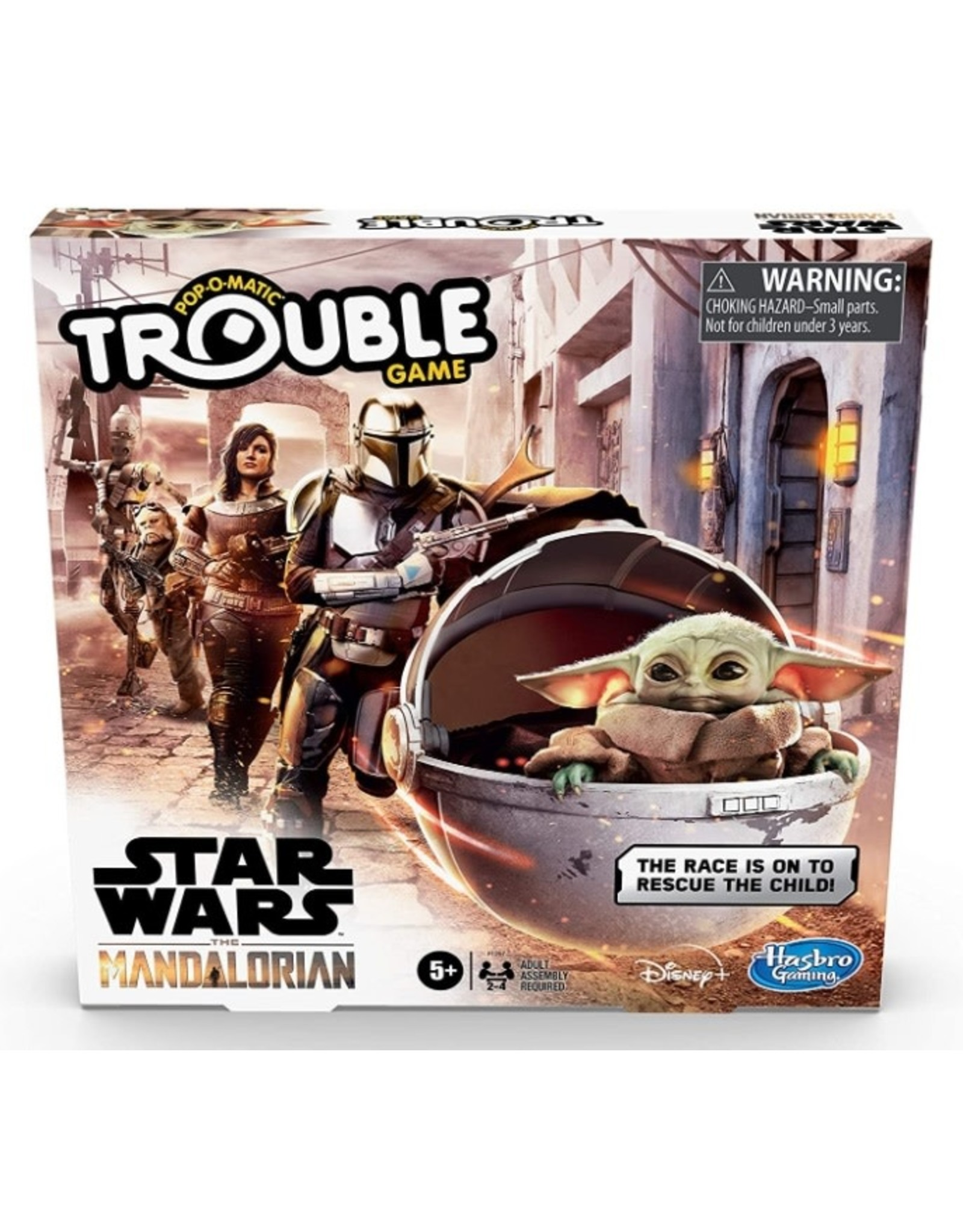 Trouble - Star Wars The Mandalorian edition