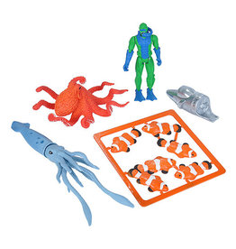 Wild Republic Adventure Playset - squid & octopus