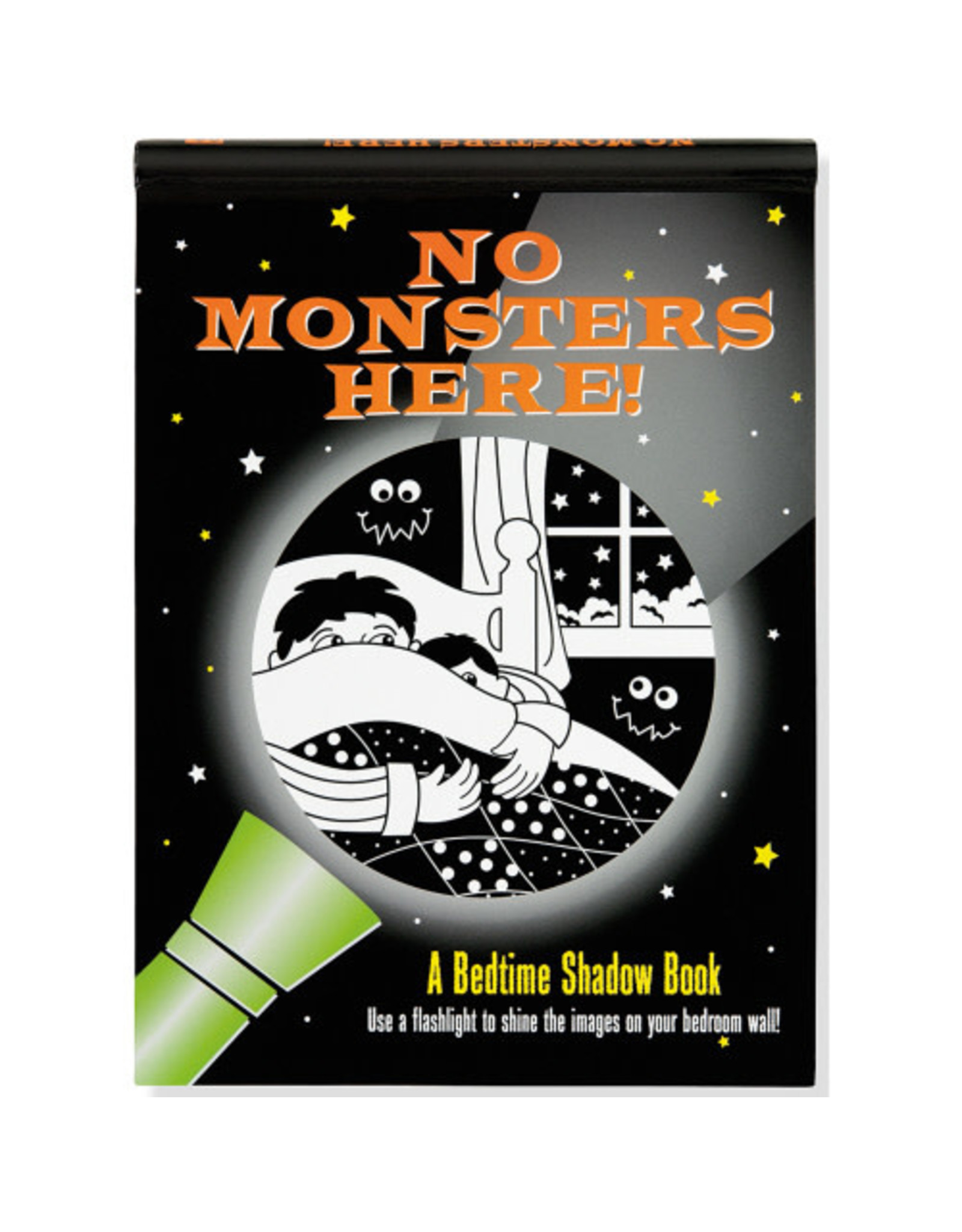Bedtime Shadow Book: No Monsters Here
