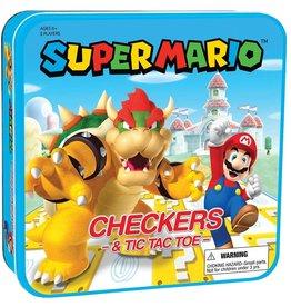 Checkers & Tic-Tac-Toe - Super Mario