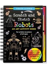 Scratch & Sketch Book -  robots