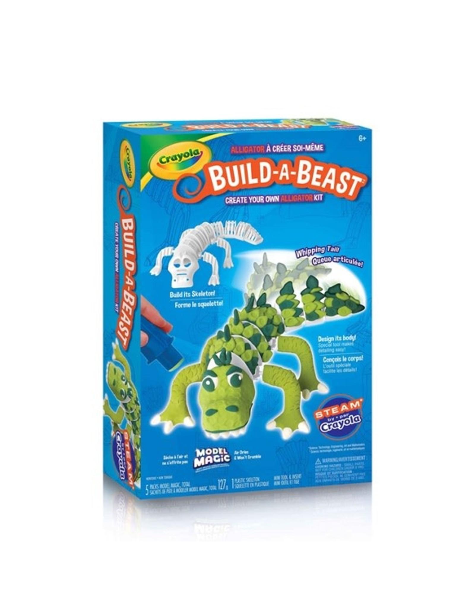 Crayola Build A Beast - Gator