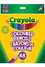 Crayola Coloured Pencils - 48 piece