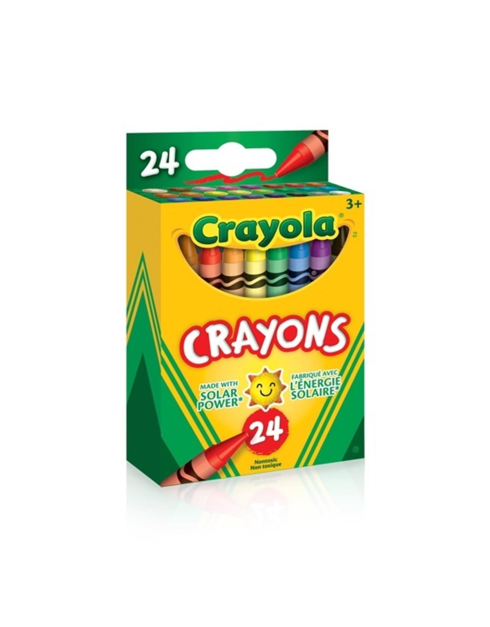 Crayola Crayons, 24 CT - regular