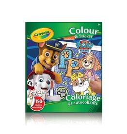 Crayola Paw Patrol - colour sticker
