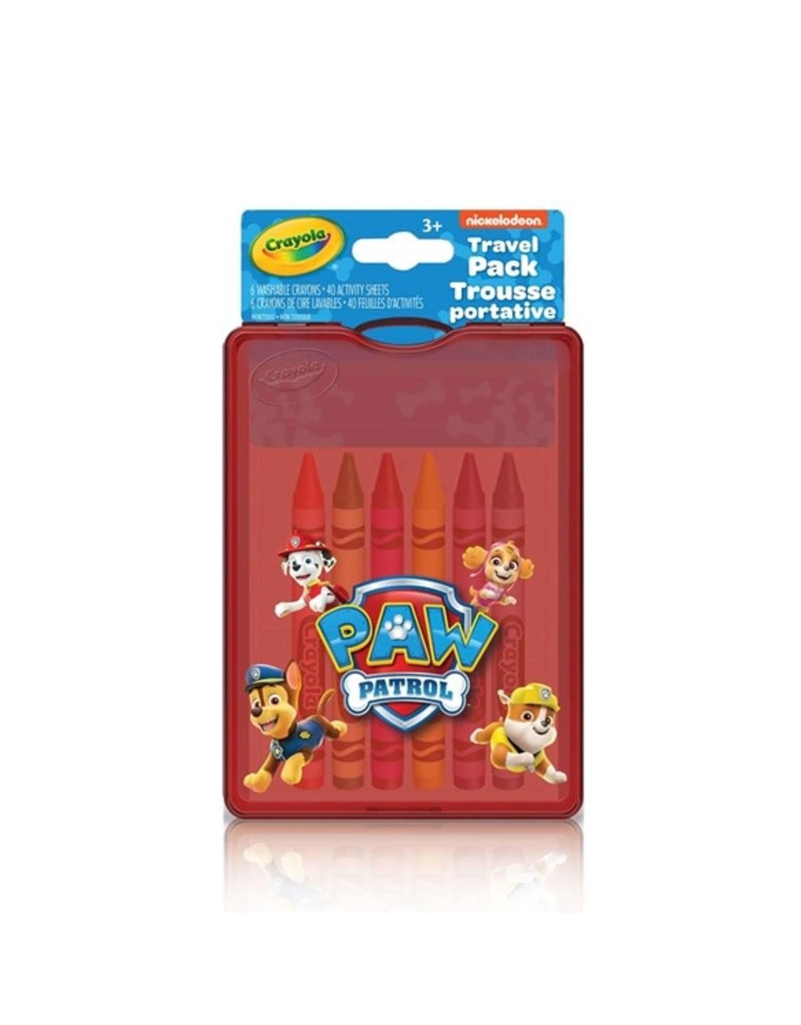 Crayola Travel Pack - Paw Patrol