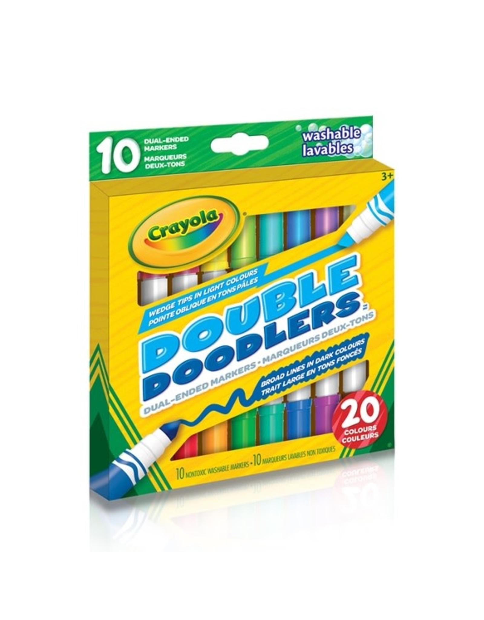 Crayola Double Doodler Markers - 10 piece