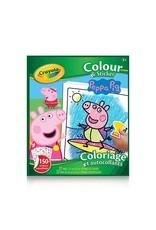 Crayola Peppa Pig - colour sticker