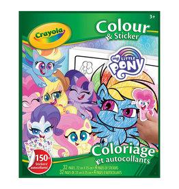 Crayola My Little Pony - colour sticker