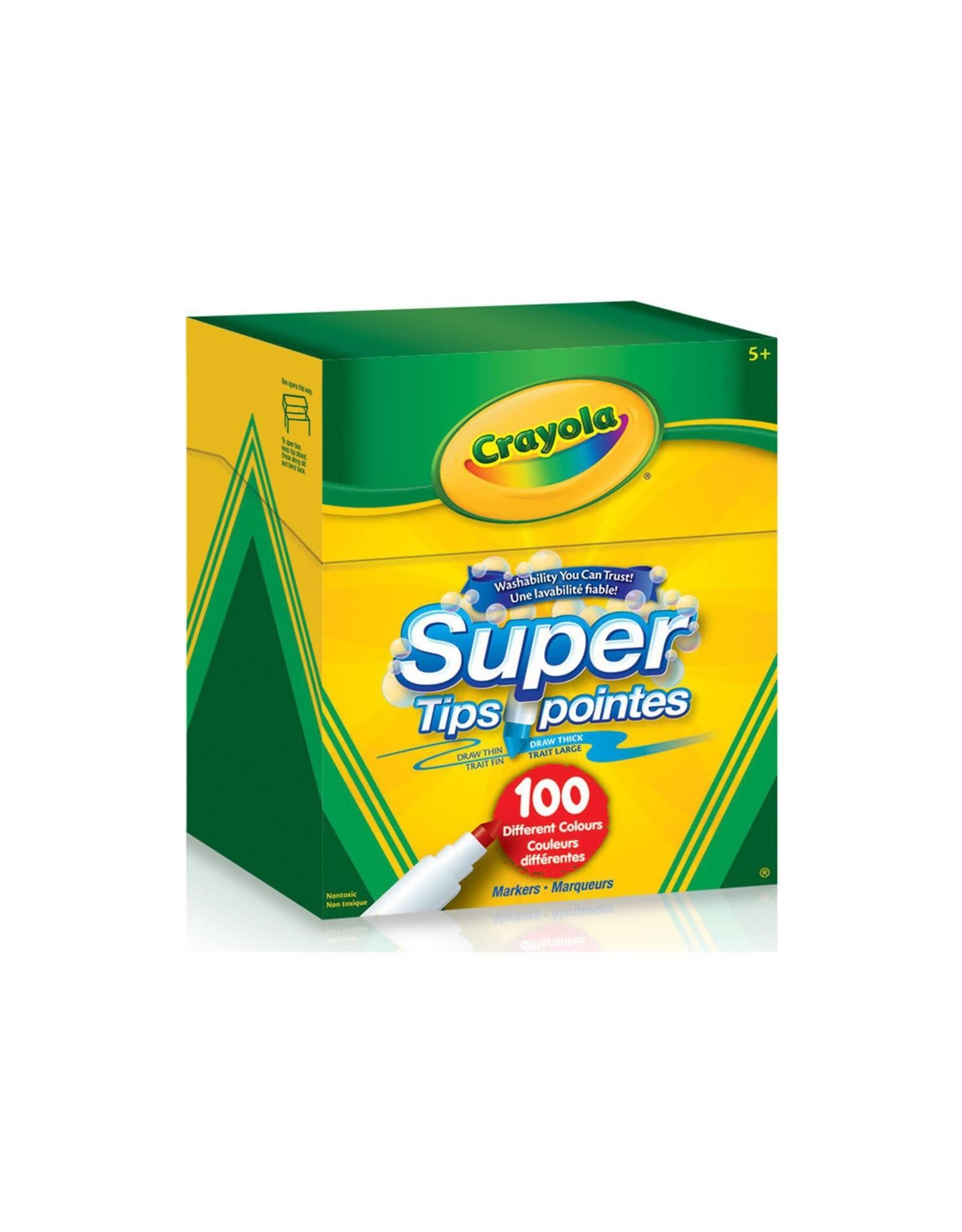 Crayola Super Tips Washable Markers - 100ct
