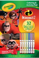 Crayola Incredibles 2 - CA  7 mrkr
