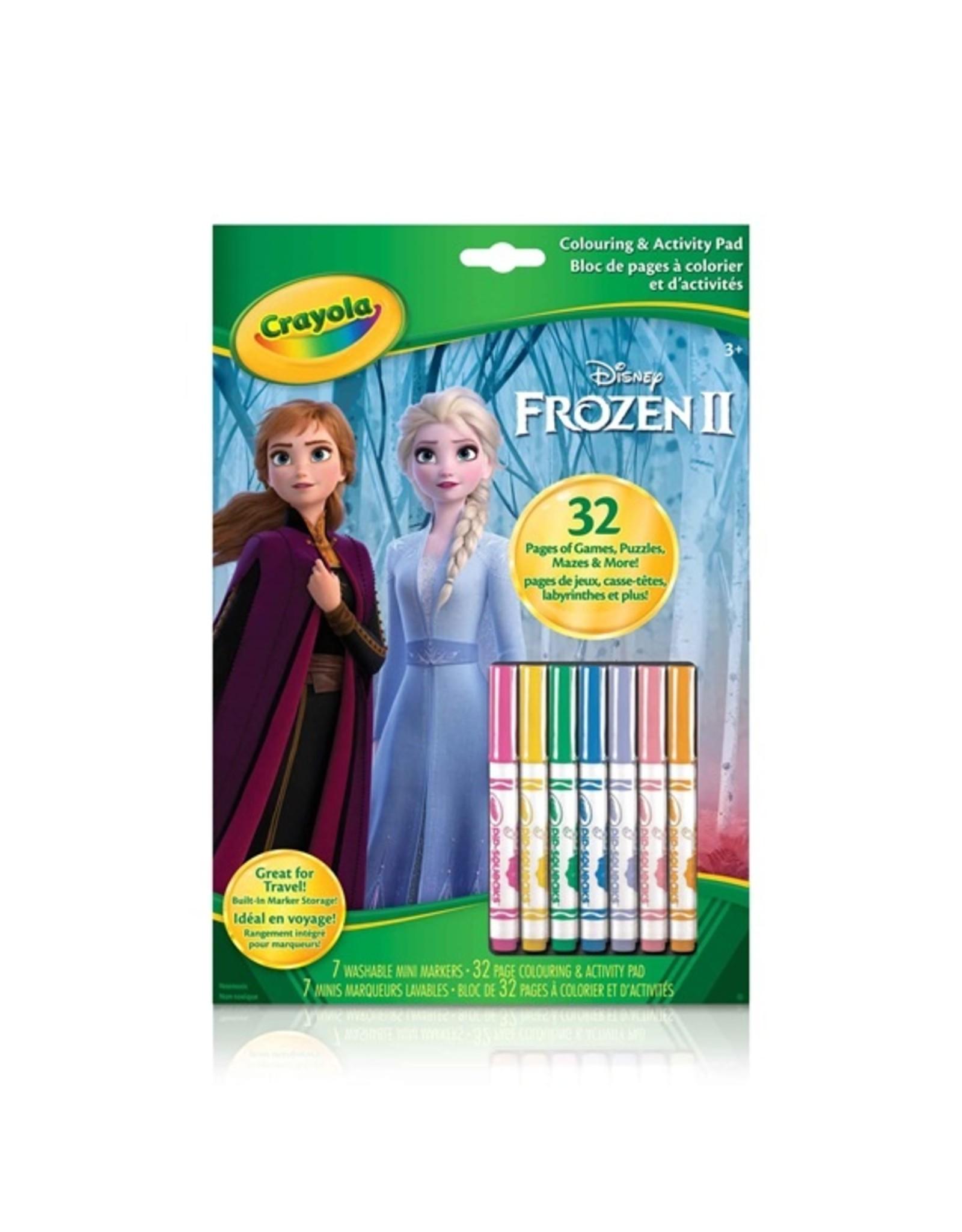 Crayola Frozen 2 - CA 7 mrkr