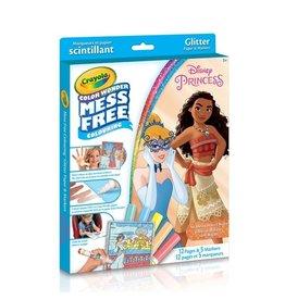 Crayola CW Glitter 12 pgs 5 mini mkr - Disney Princesses