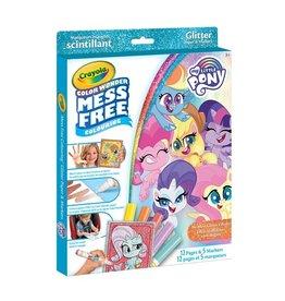 Crayola CW Glitter 12 pgs 5 mini mkr - My Little Pony