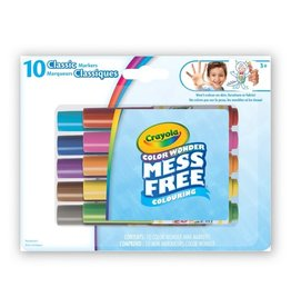 Crayola Colour Wonder Markers 10 ct- classic