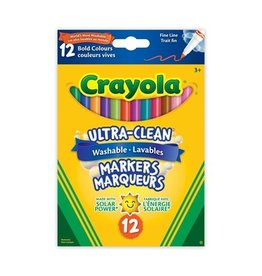 Crayola Fine Line Colossal Bold 12ct - Ultra Clean