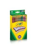 Crayola Twistables Coloured Pencils - 24 piece