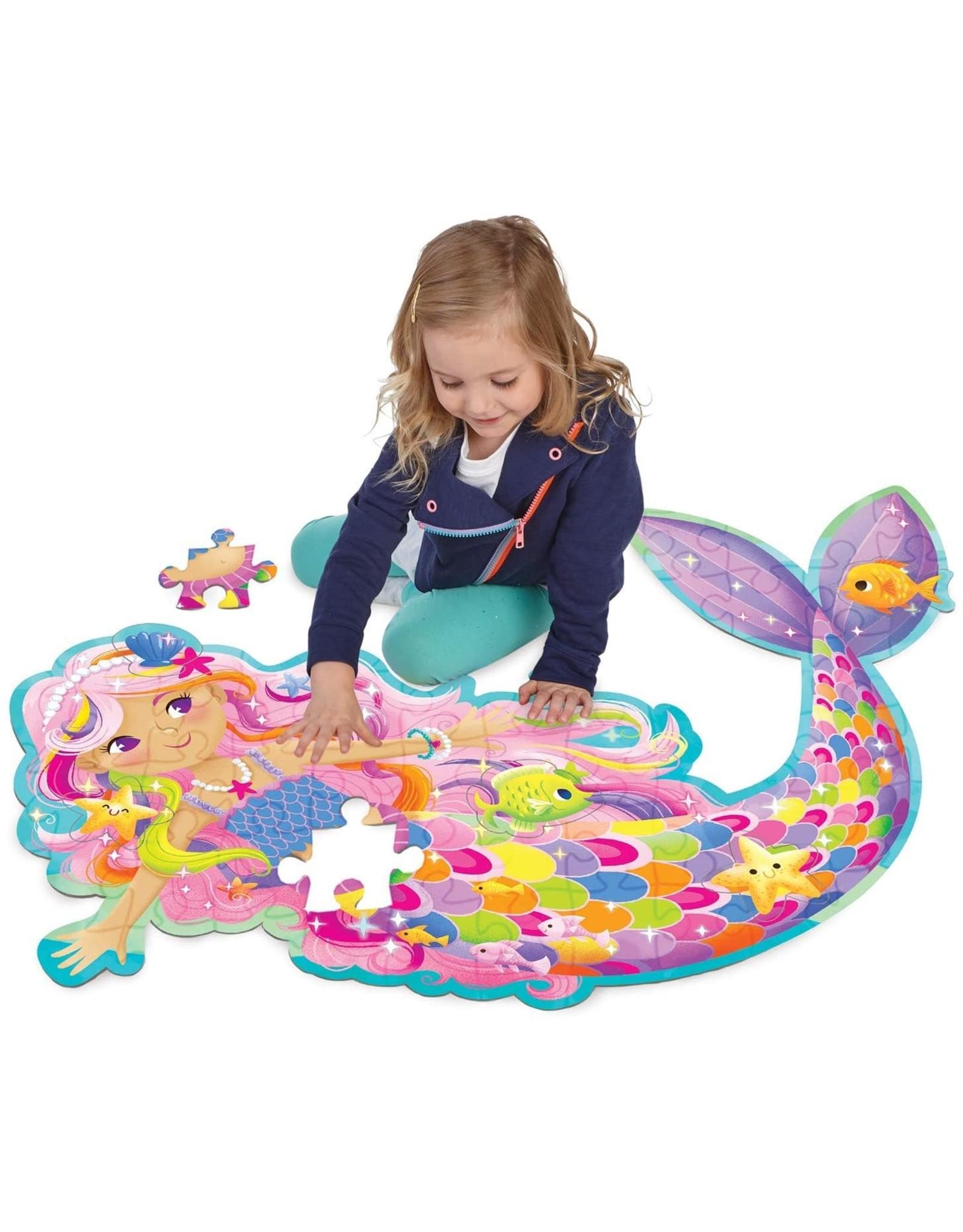 Floor Puzzle - magical mermaid